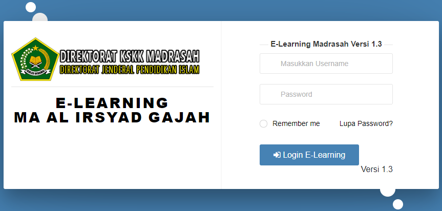 E-Learning Madrasah